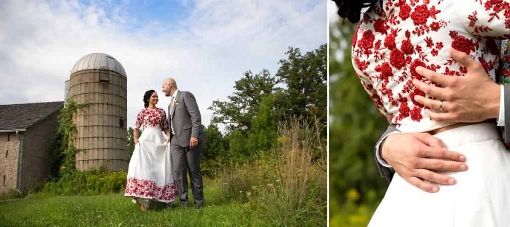 Slit Barn Wedding