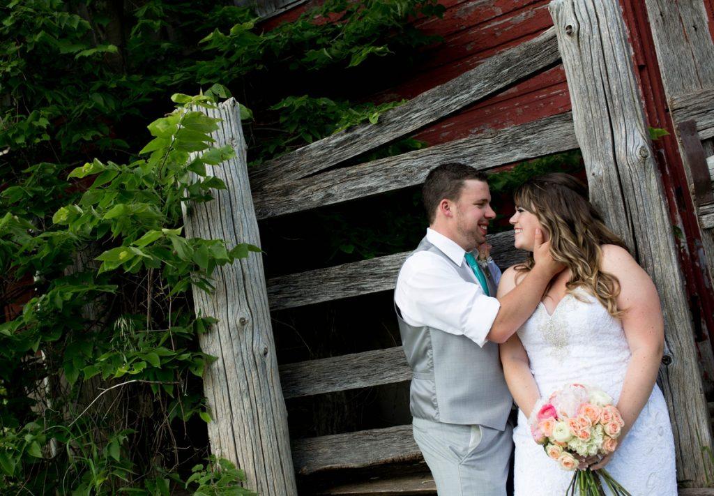 Grey Silo Wedding