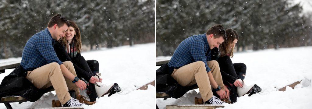 Winter Engagement Shoot