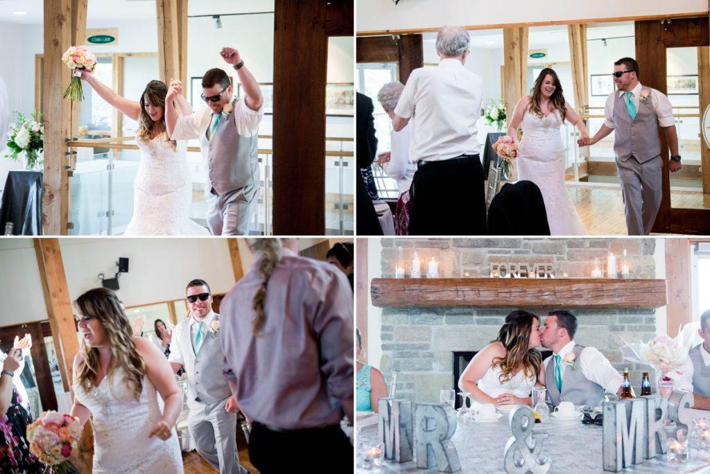 Grey Silo Golf Course Wedding